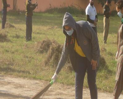 Swachhta Abhiyan in in association with CRPF - 07.12.2019