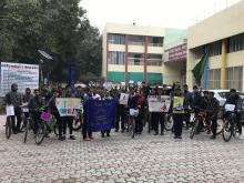 Fit India Cycle Day 18th Jan 2020