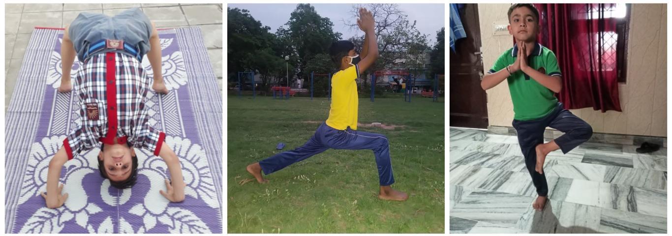 Yoga Activities KV Sec. 31